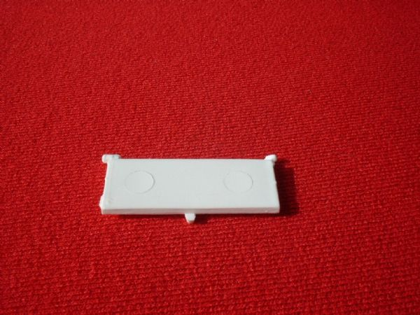 Dinky Toys 117 Four Berth Caravan door in White (Each)